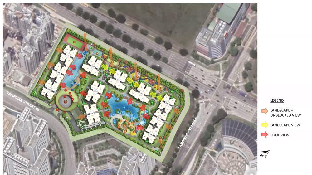 Parc Central Site Plan Views